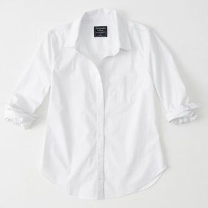 Abercrombie & Fit h Poplin Button-Up Shirt